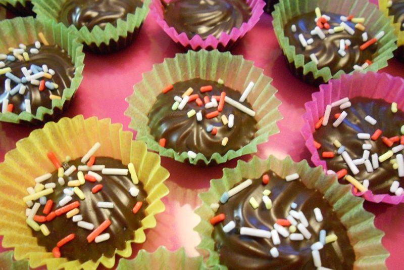 Pralinés au chocolat
